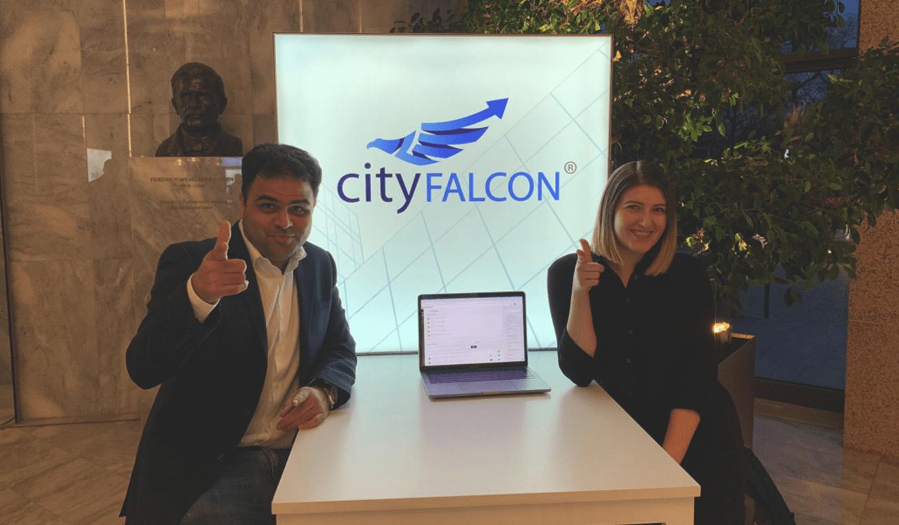 Cityfalcon – Growing despite weathering a pandemic